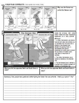 Korean War Lesson