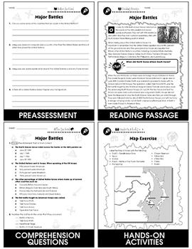 Korean War: Major Battles Gr. 5-8