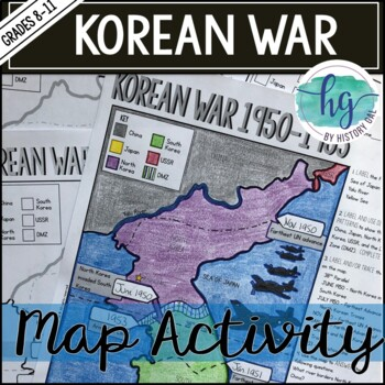 Korean War Map Activity