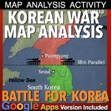 Korean War Map Exercise (Cold War)