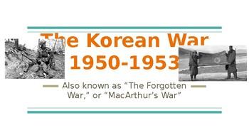Korean War PowerPoint Presentation
