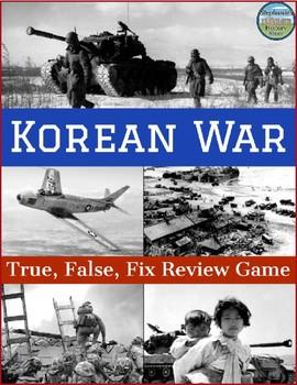Korean War Review Game