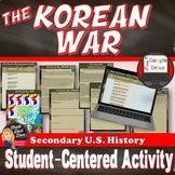 Korean War Student-Centered Activity (Print and  Google Do