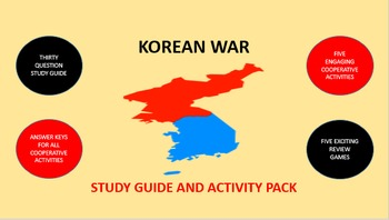 Korean War: Study Guide and Activity Pack