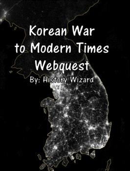 Korean War Timeline Webquest