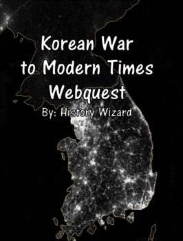 Korean War Timeline Webquest