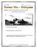 Korean War - Webquest with Key (History.com)