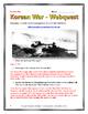 Korean War - Webquest with Key (History.com)