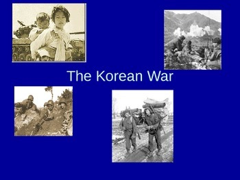 Korean War presentation