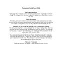 Korematsu v. United States Mock Trial