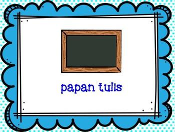 Kosa Kata Bahasa Indonesia (Kembali ke Sekolah / Back to School)
