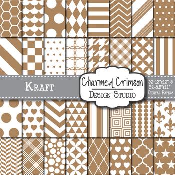 Kraft Digital Paper 1108