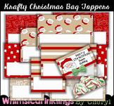 Krafty Christmas Bag Topper Starters~2 Sizes