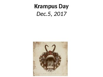 Krampus Day Questions