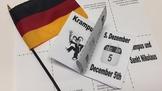 Krampus und Sankt Nikolaus (Krampus and St. Nick) Mini Book