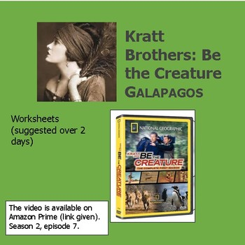 """Kratt Brothers: Be the Creature: GALAPAGOS VIDEO ws - """"Island Colonizers"""" 2 day"""