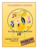 Krazy Kloze: A Mad Lib in Disguise Children's Songs Bundle