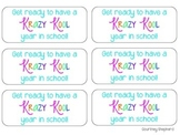 Krazy Kool School Year Tags {a Back to School gift}
