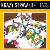 Valentine Cards Krazy Straws