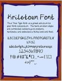 Kriletown Font