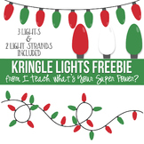 Kringle Christmas Lights FREEBIE