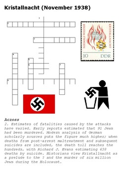 Kristallnacht Crossword