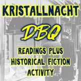 World War II - Kristallnacht DBQ (dbq) & Historical Fiction Writing Activity
