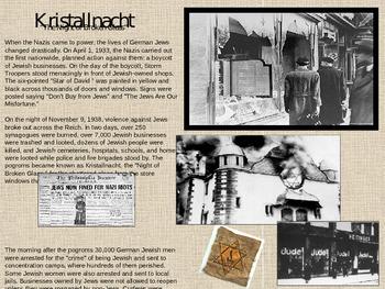 Kristallnacht Handout