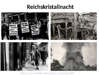 Kristallnacht / Hitler / Nazis / World War Two / Persecution of the Jews