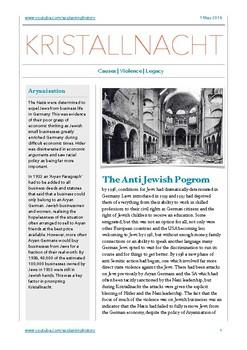 Kristallnacht Study Notes