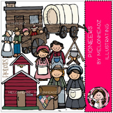 Pioneers clip art - COMBO PACK- by Melonheadz