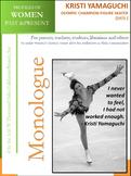 Women History - Kristi Yamaguchi Olympic Champion Figure Skater (1971 -)