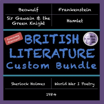 Kristina's Custom British Literature Bundle