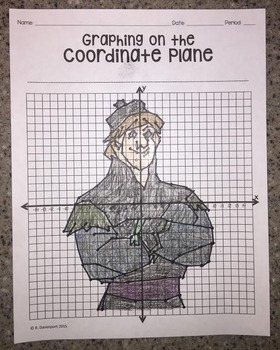 Kristoff (Graphing on the Coordinate Plane Mystery Picture)