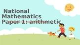 Ks1 SATs Revision 2016 Mathematics Paper 1: arithmetic and