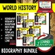 Kublai Khan Biography Research, Bookmark Brochure, Pop-Up Writing Google