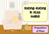 Kucing-Kucing Di Atas Mebel - Indonesian Prepositions of Place