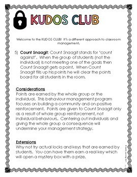 Kudos Club: A Classroom Management System That Builds Community