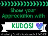 Kudos! for Educators FREEBIE