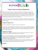 Kudoz4kids Art work / Graphics Terms and System Requirements