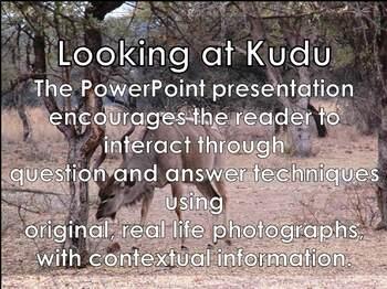 Kudu Antelope - Interactive PowerPoint presentation