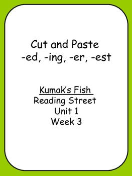 Kumak's Fish Cut and Paste ed, ing, er, est