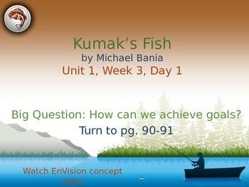 Kumak's Fish PowerPoint Reading Street 3.1.3