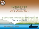 Kumak's Fish PowerPoint Reading Street 3.1.3
