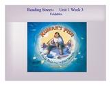 """Kumak's Fish"" Reading StreetⓇ Unit 1 Week 3 Foldable"