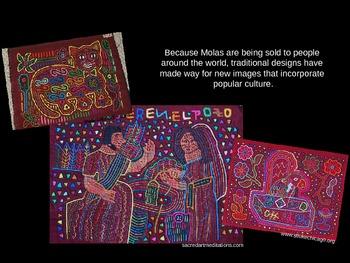 Elementary Art Lesson: Cultural Kuna Molas & Marzano DQ