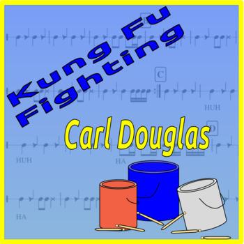 Kung Fu Fighting - Bucket Drumming Arrangement