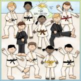 Kung Fu Kids Clip Art - Karate Clip Art - Taekwondo Clip A