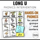Phonics Intervention Games  Kung Fu Long U