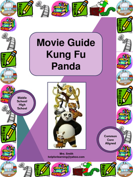 Movie Guide: Kung Fu Panda Movie-Connections, Inference and Character Traits